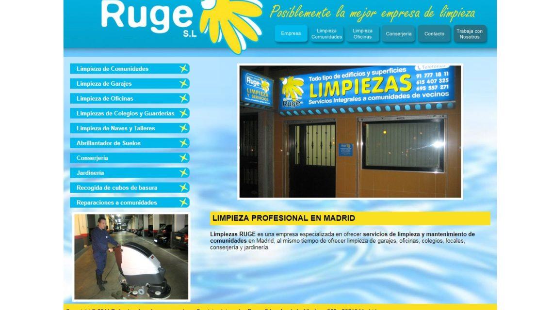 Servicios Integrales RUGE S.L