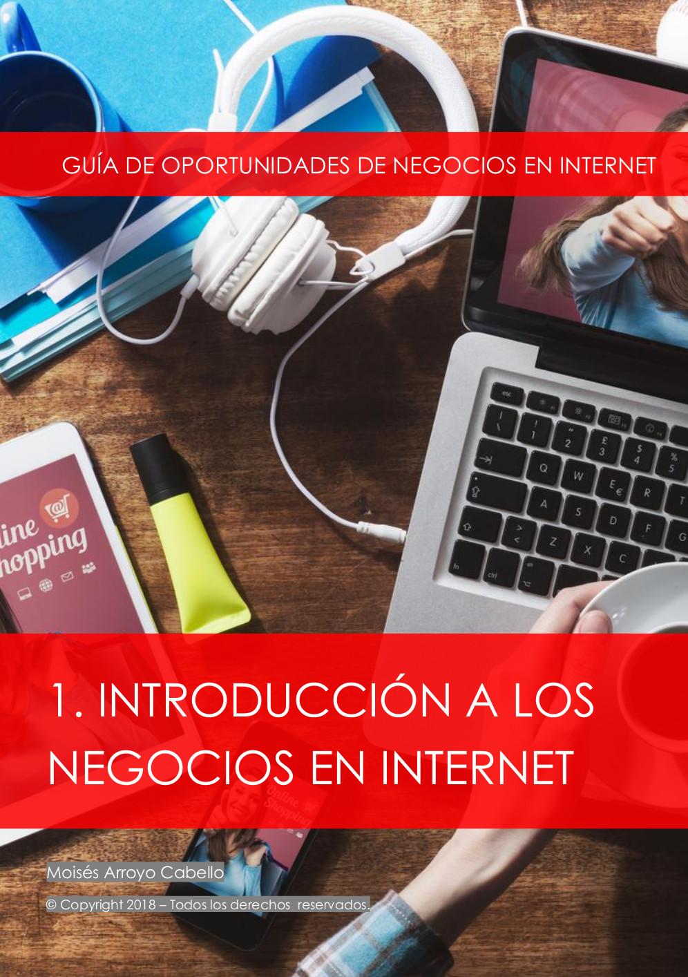 Mi primer ebook sobre introducción a los negocios en internet