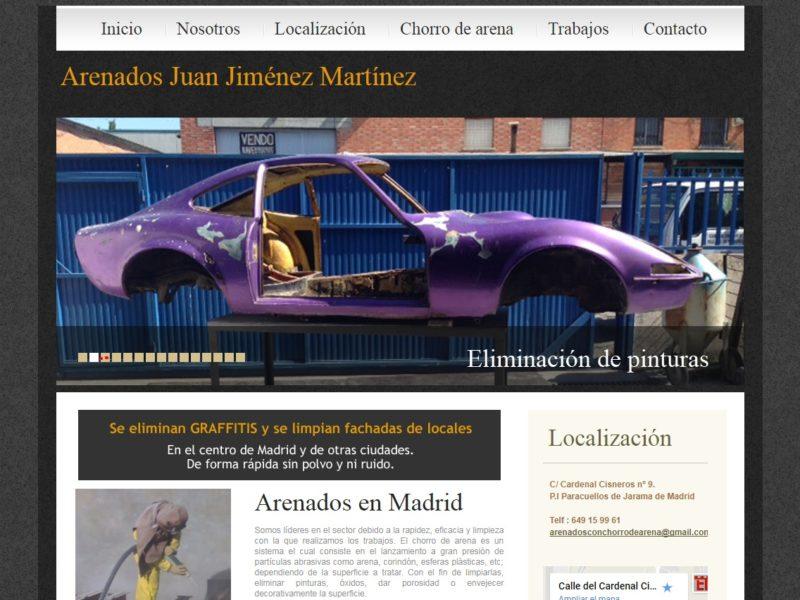 Arenados Juan Jiménez Martínez