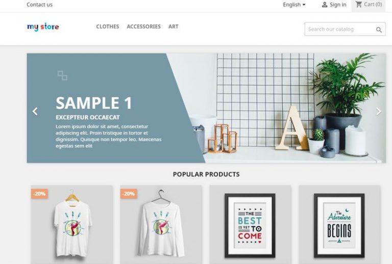 Pasos para crear una tienda online con prestashop