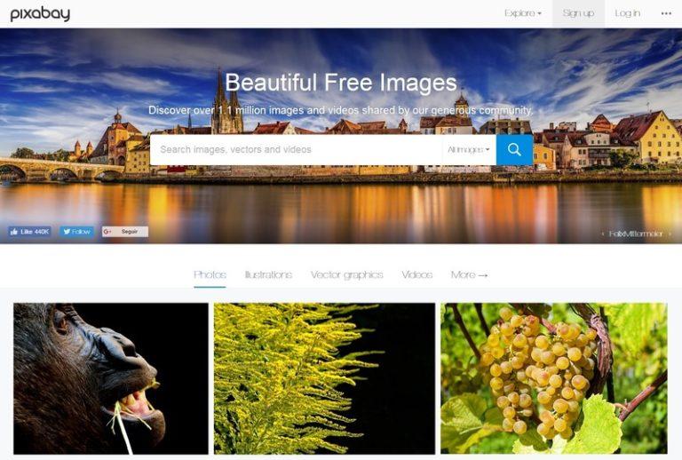 Imágenes gratis de uso comercial para tu web y blog