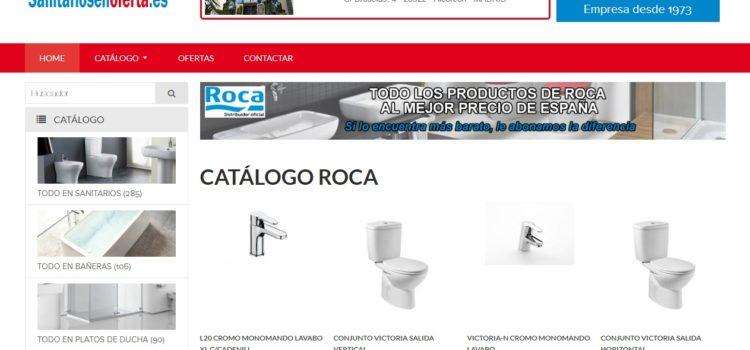Sanitarios Rodrisan crea su tienda online de saneamientos Roca